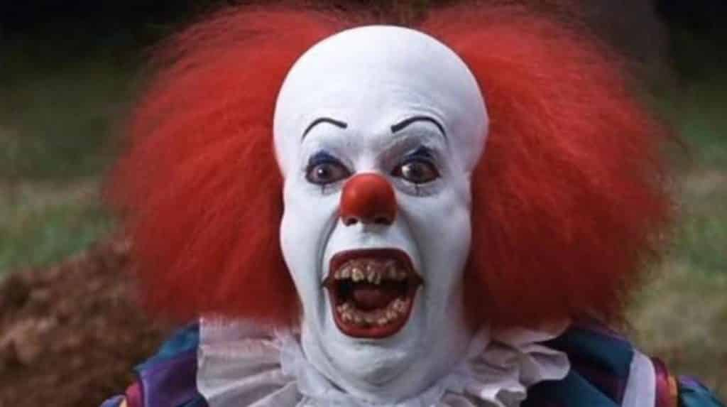 killer clown pennywise tim curry it