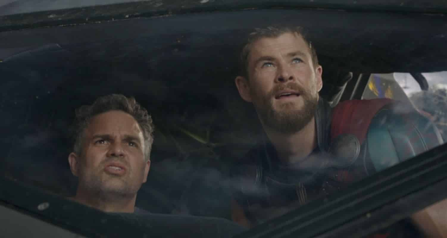 thor ragnarok chris hemsworth mark ruffalo mcu