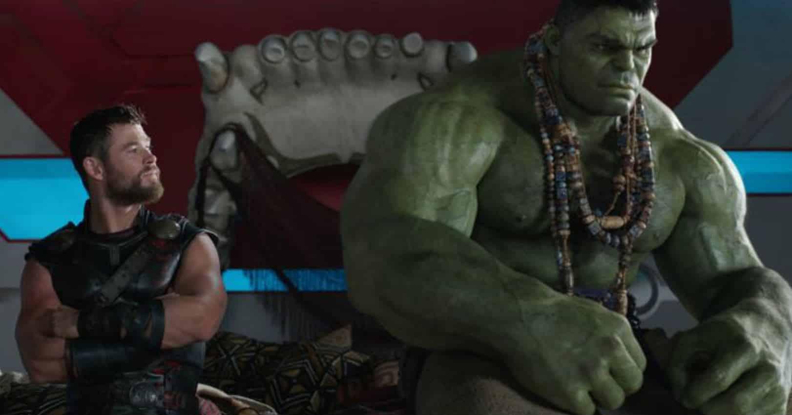 thor: ragnarok thor hulk