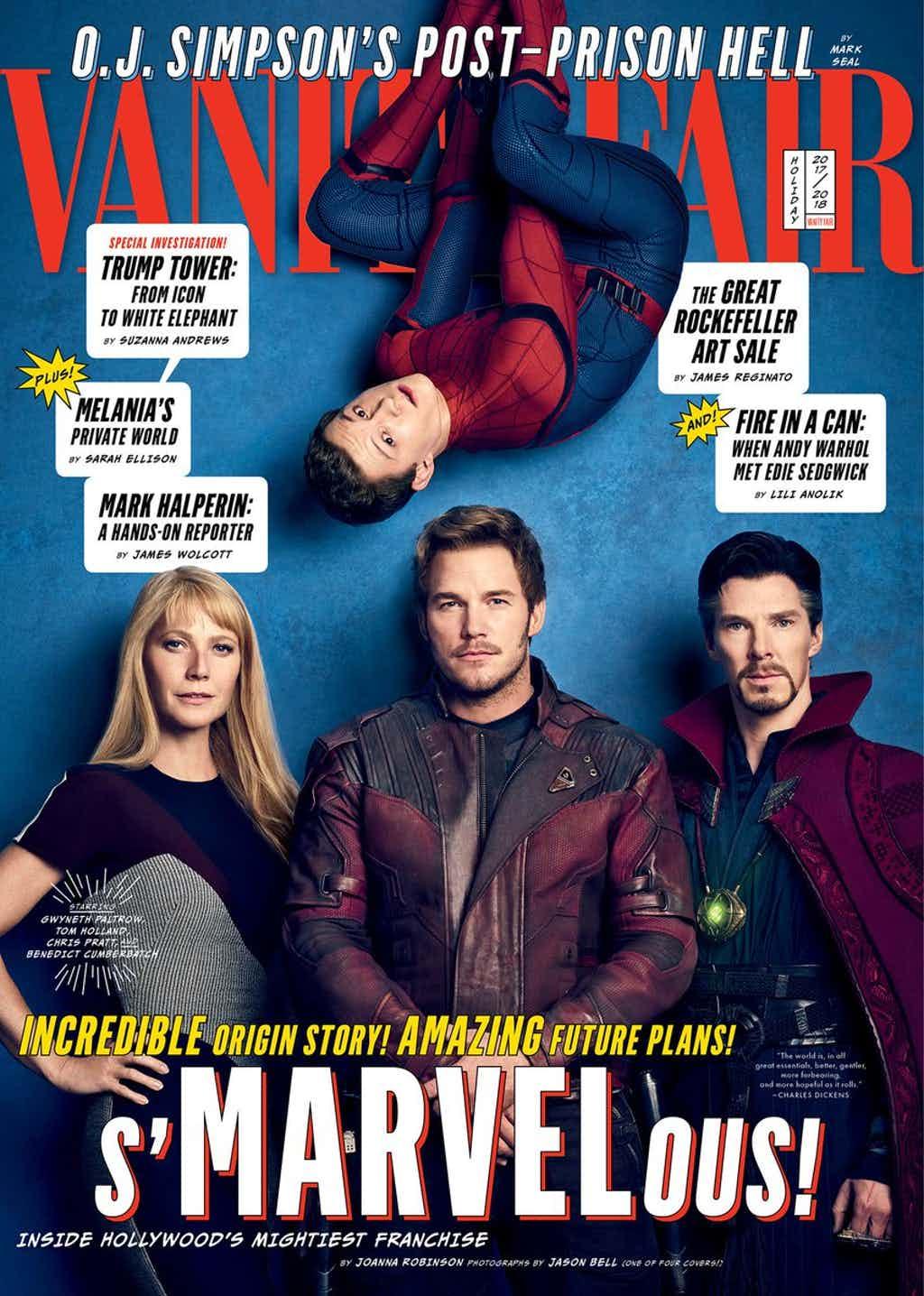 Avengers: Infinity War Vanity Fair