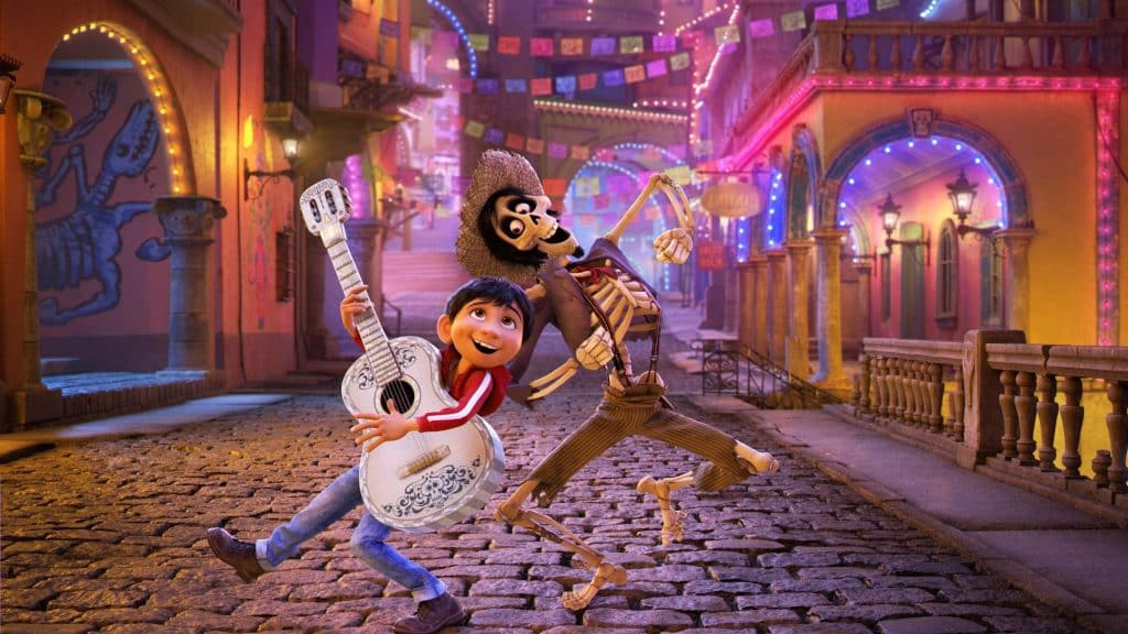 Coco movie Pixar