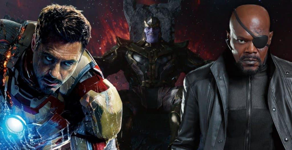 avengers 4 iron man nick fury shield