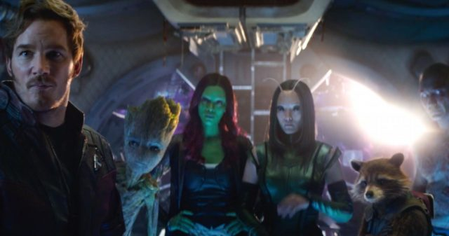 Avengers: Infinity War Guardians of the Galaxy