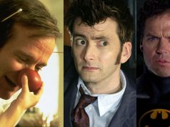 celebrities robin williams david tennant michael keaton batman