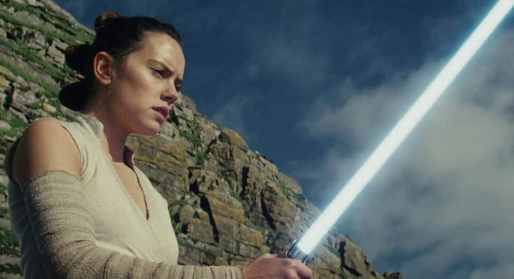Daisy Ridley Rey Star Wars: The Last Jedi