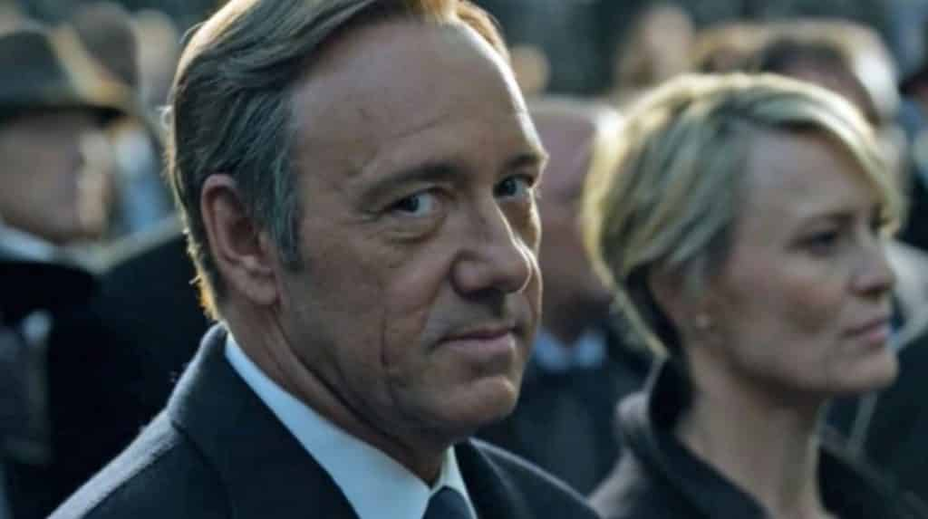 house of cards frank underwood kevin spacey