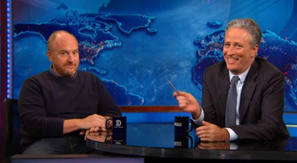 Louis C.K. Jon Stewart The Daily Show