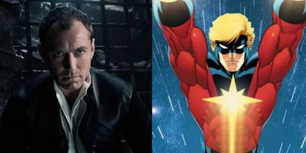 Jude Law In Negotiations To Join Cast Of 'Captain Marvel'