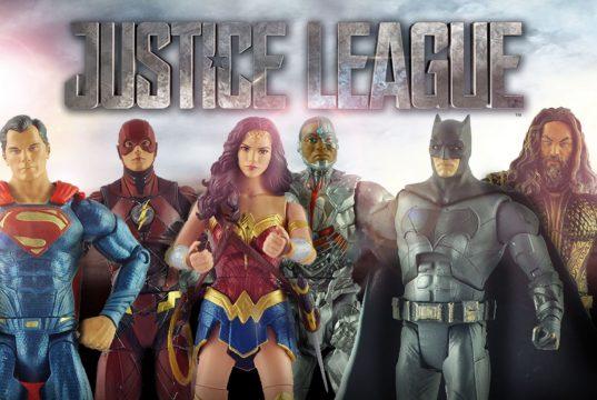 Justice League Cast Action Figures