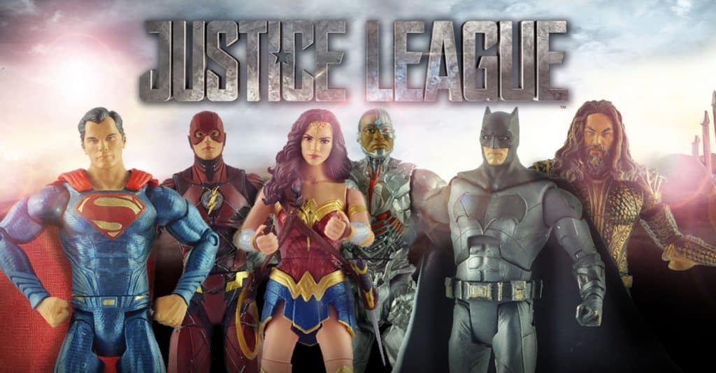 Justice League Cast Action Figures