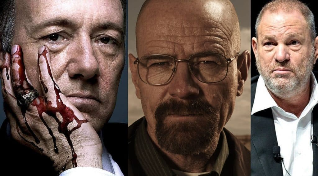 Kevin Spacey Bryan Cranston Harvey Weinstein