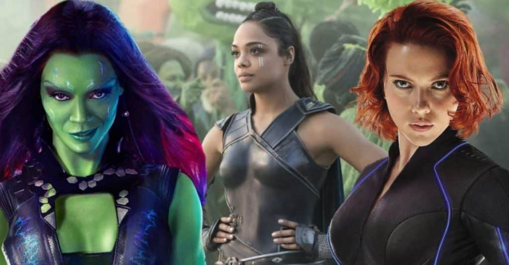 marvel cinematic universe female characters