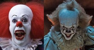 IT Pennywise The Clown Tim Curry Bill Skarsgård