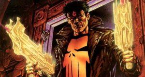 The Punisher supernatural Angel Marvel Comics