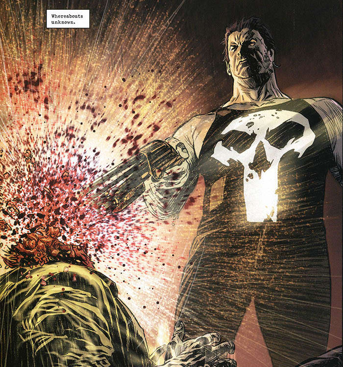 Punisher Violence Marvel Comics