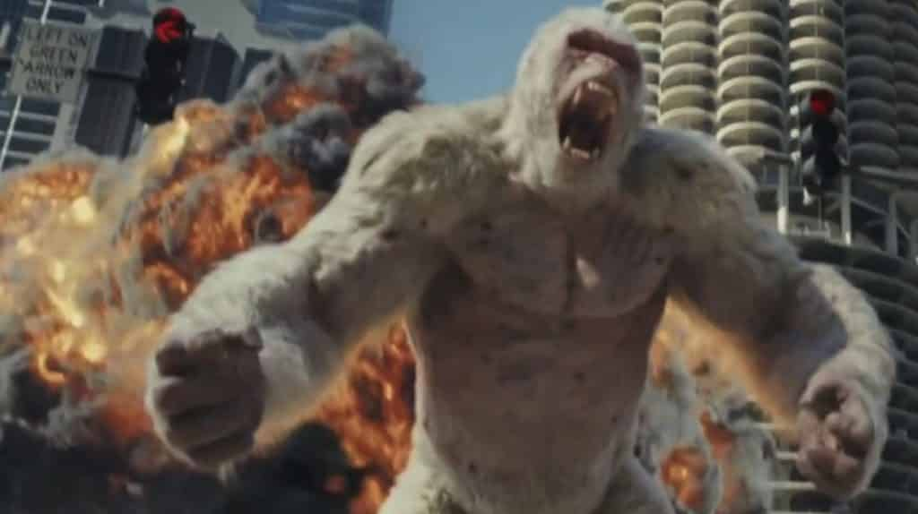 Dwayne Johnson Deals With Rogue Ape In New Rampage Trailer