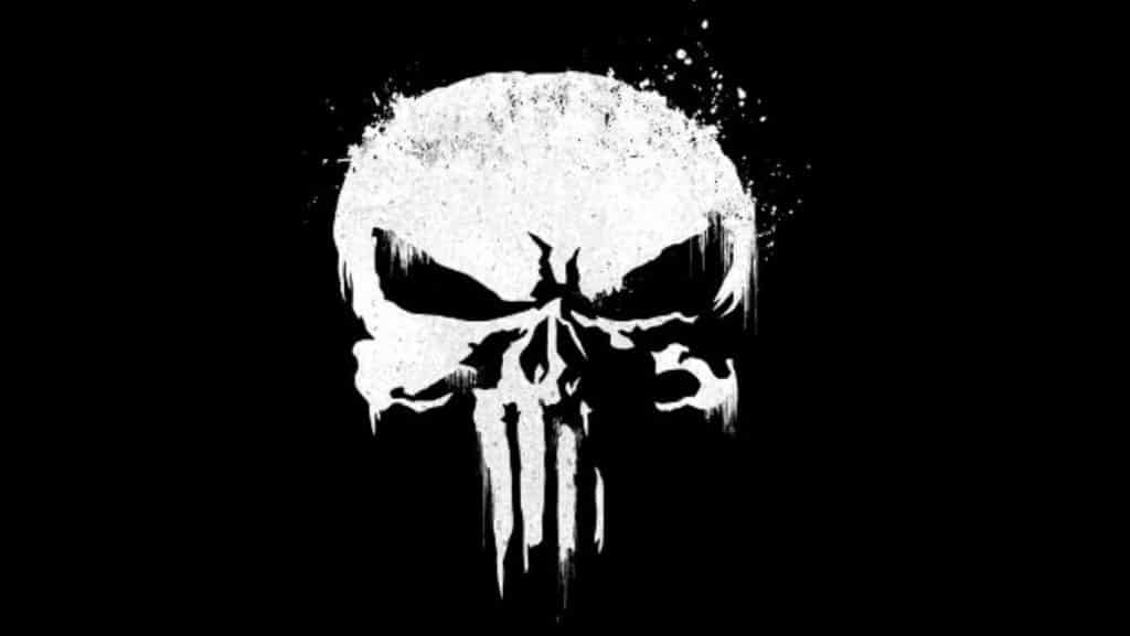 The punisher skull vector