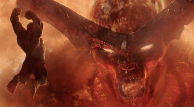 thor: ragnarok hulk surtur