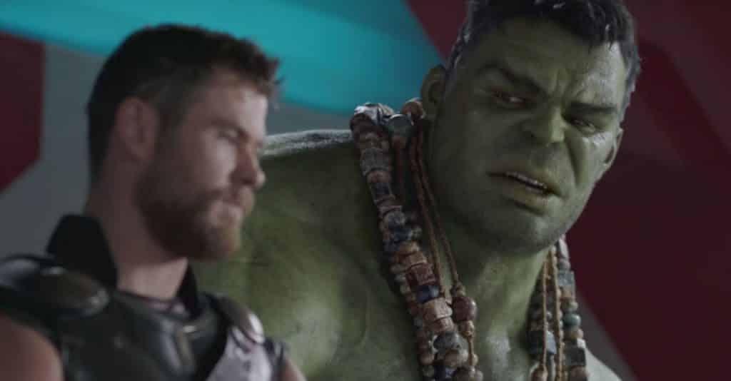 hulk thor: ragnarok mark ruffalo
