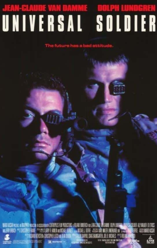 universal soldier 1992 poster