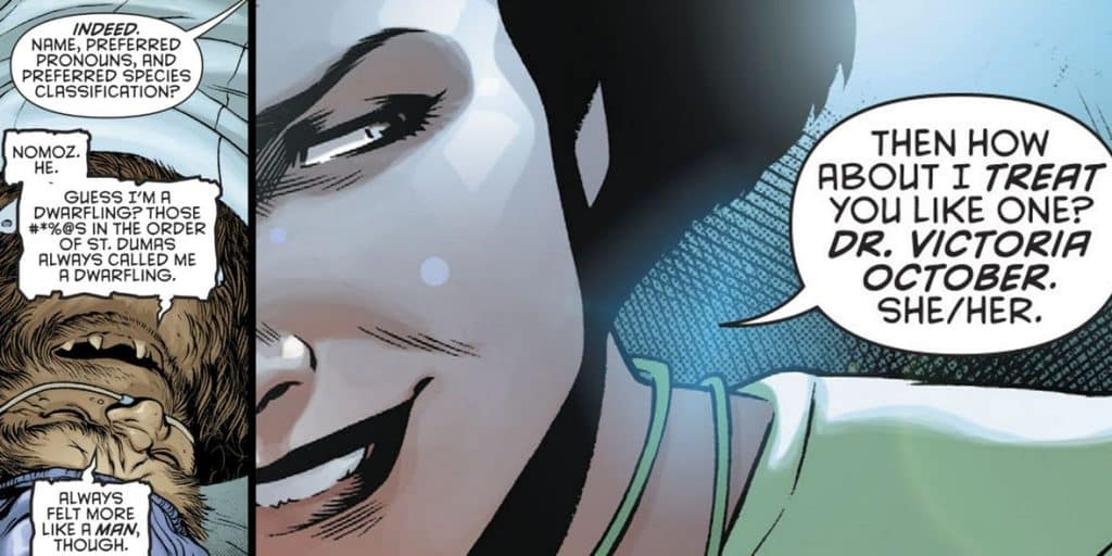 Batman Transgender Pronouns