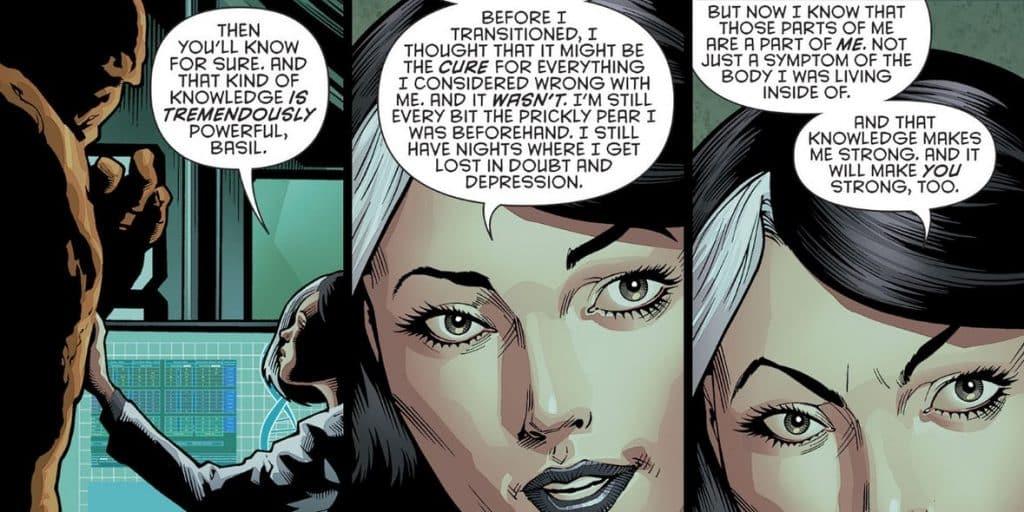 Batman Comics DC Rebirth Victoria Transgender