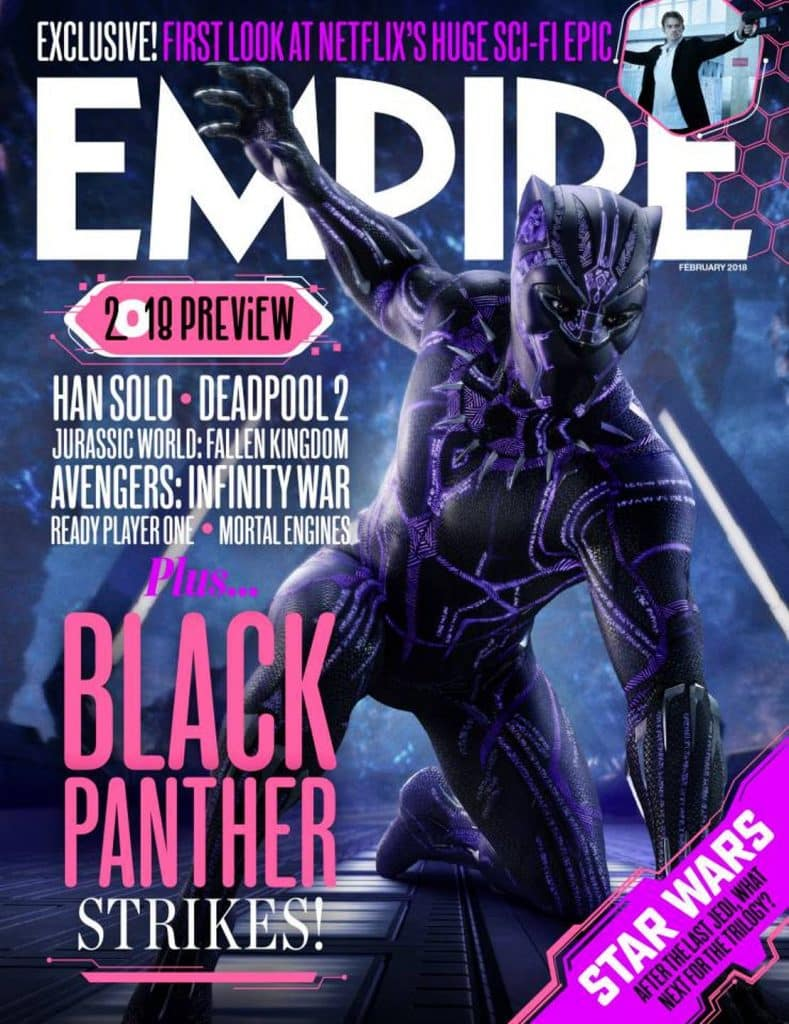 Detailed Look At Black Panther's New Suit Revealed
