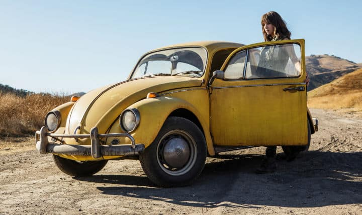 Bumblebee Transformers Movie Hailee Steinfeld