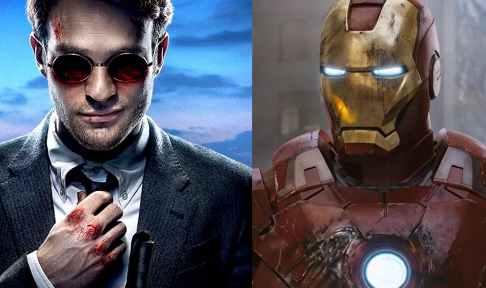 Daredevil Iron Man MCU