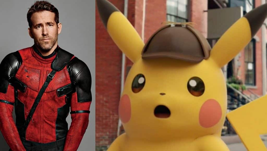 Ryan Reynolds Detective Pikachu Pokémon Movie