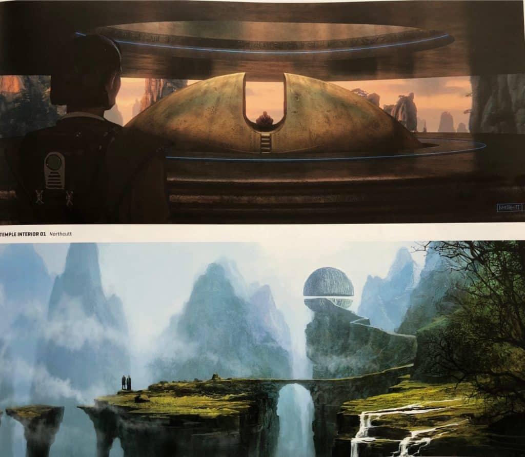 George Lucas Star Wars Trilogy Concept Art
