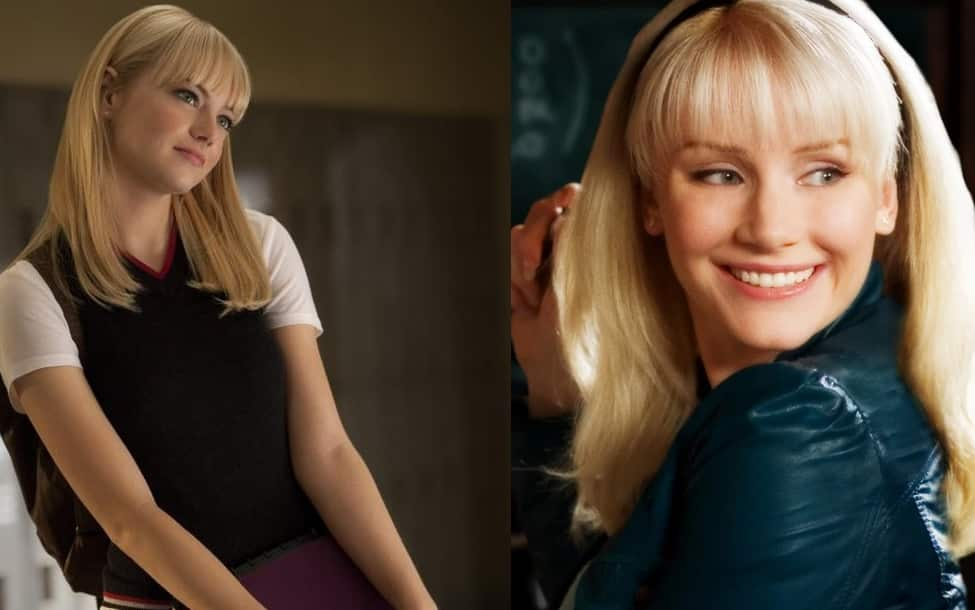 Gwen Stacy Emma Stone Bryce Dallas Howard
