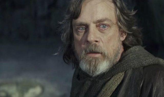 Mark Hamill Luke Skywalker Star Wars: The Last Jedi