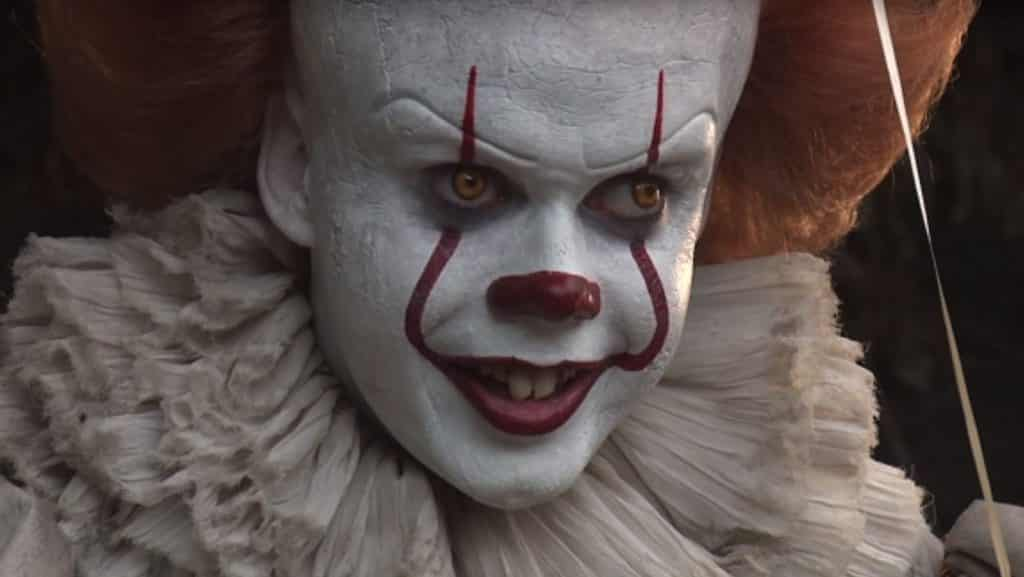 Pennywise Bill Skarsgård IT Movie