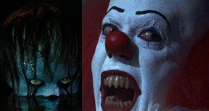 Pennywise The Clown Bill Skarsgård Tim Curry