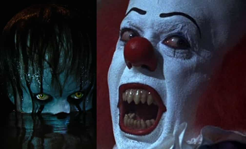 Pennywise The Clown Bill Skarsgård Tim Curry