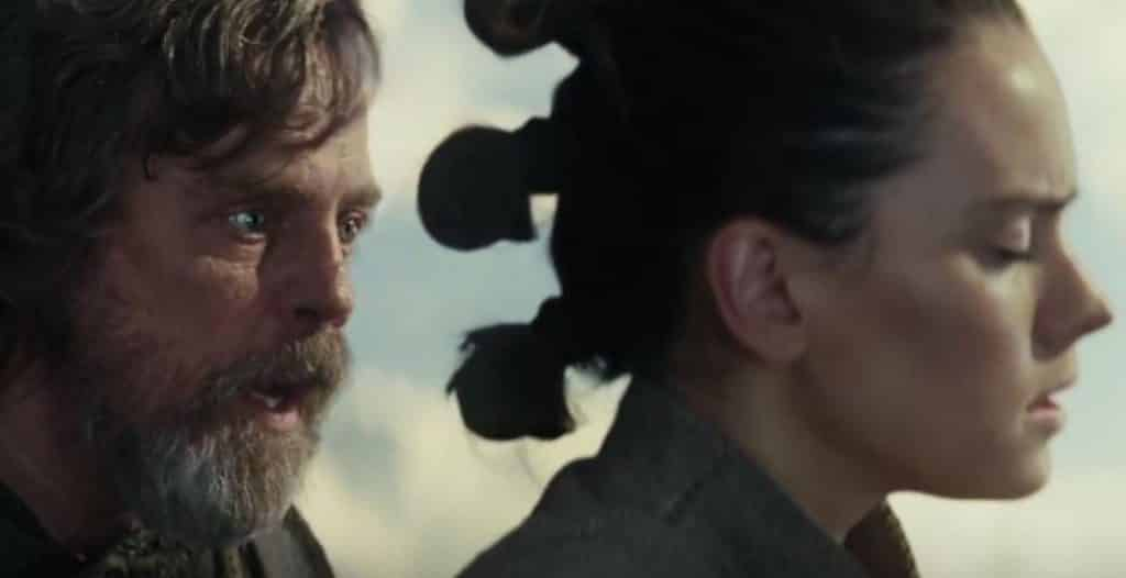 Star Wars: The Last Jedi Luke Skywalker Rey