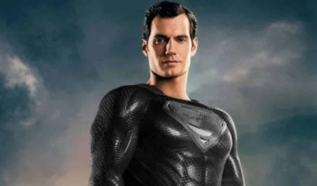 Superman Black Suit Justice League