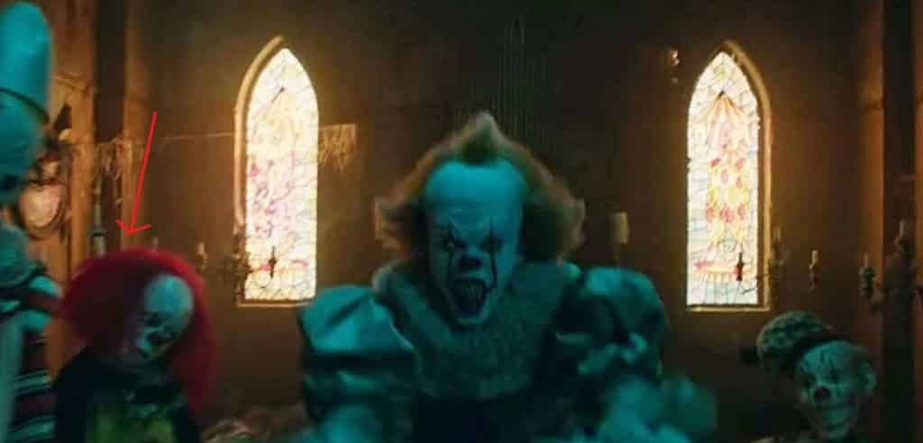 Tim Curry Pennywise Easter Egg 2017 IT Movie