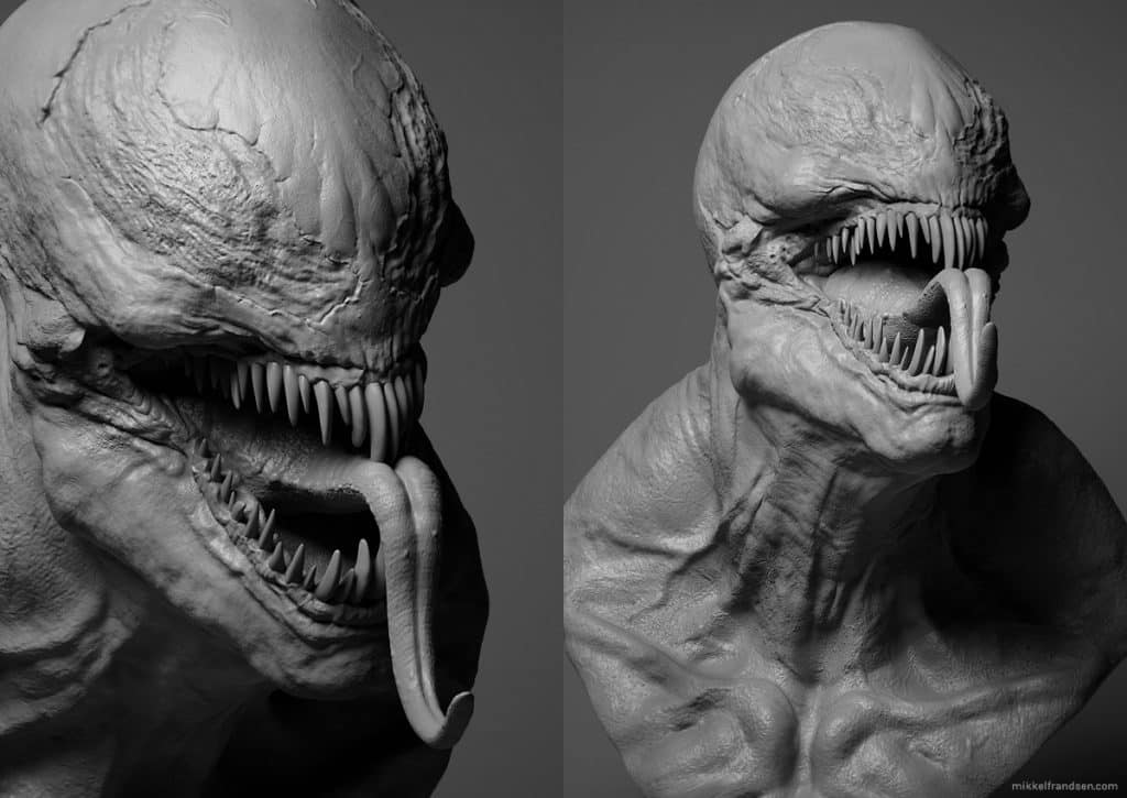 First Potential Look At Tom Hardy S Venom Cgi Design