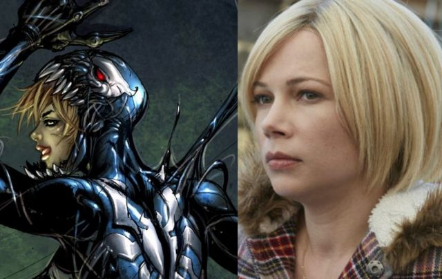 Venom Movie Michelle Williams She-Venom