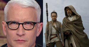 Anderson Cooper Star Wars: The Last Jedi