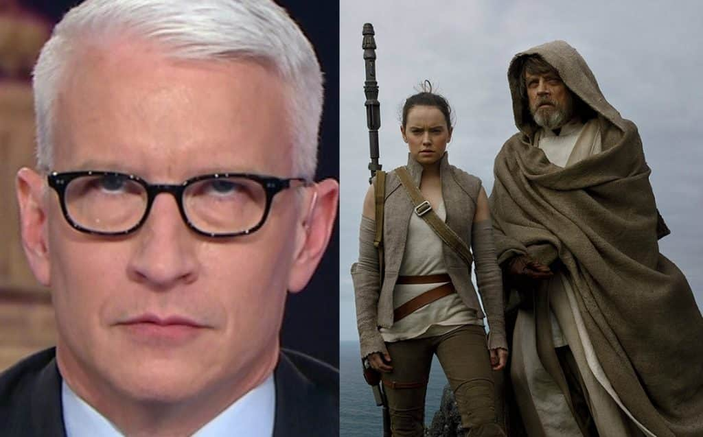Anderson Cooper Star Wars: The Last Jedi