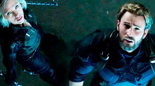 Avengers 4 Black Widow Captain America Marvel
