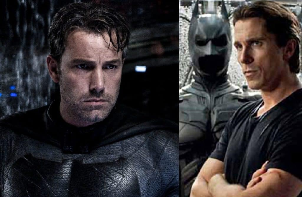 Batman Ben Affleck Christian Bale