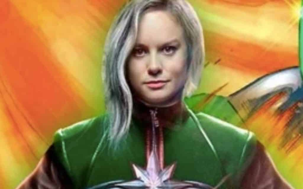 Photos Surface Of Brie Larson As 'Captain Marvel'