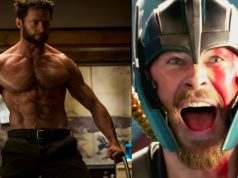Hugh Jackman Wolverine Chris Hemsworth Thor