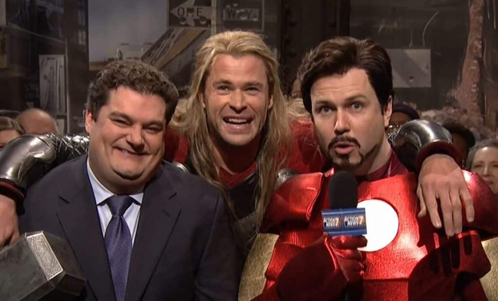 Chris Hemsworth Thor Saturday Night Live