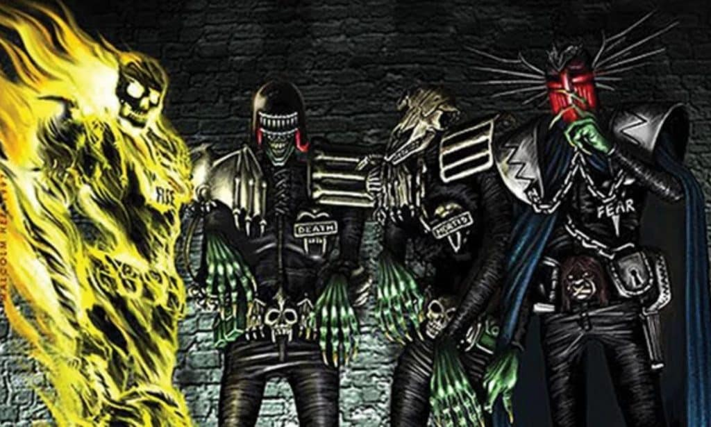 The Dark Judges 2000 AD