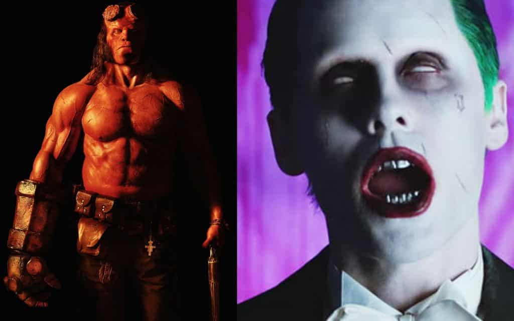 David Harbour Jared Leto Joker
